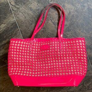 Kate Spade hot pink tote